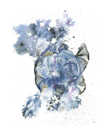 Tidal Wave-Kiran Patel-Art Print