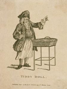 Tiddy Doll, Cries of London, 1813