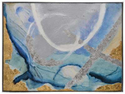 Tide Pool I--Framed Hand Painted Art