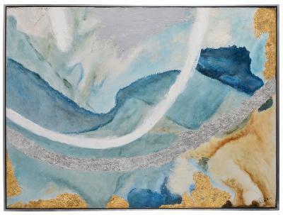 Tide Pool II--Framed Hand Painted Art