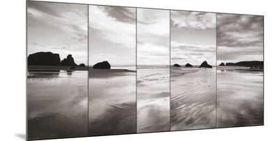 Tides on Bandon Beach-Alan Majchrowicz-Mounted Print