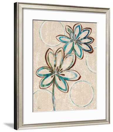 Tie Dye I-Nan-Framed Art Print