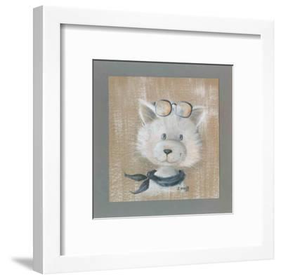Tiens Un Chat!-Jo?lle Wolff-Framed Art Print