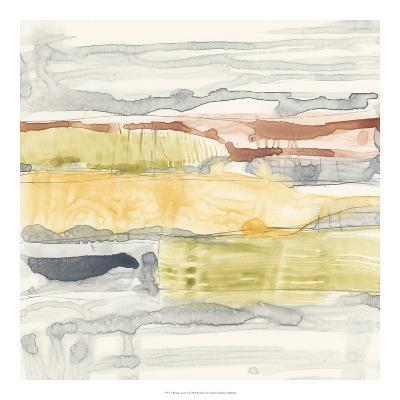 Tiered Layers II-Jennifer Goldberger-Giclee Print