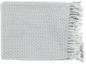 Tierney Throw - Pastel Blue/Ivory