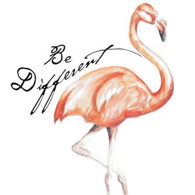 Be Different Flamingo I