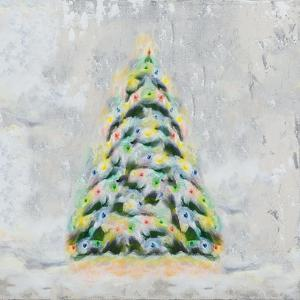 Jolly Christmas Tree by Tiffany Hakimipour