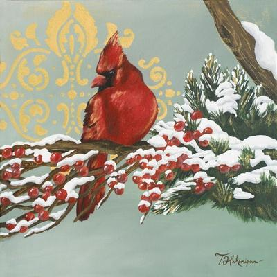 Winter Red Bird I