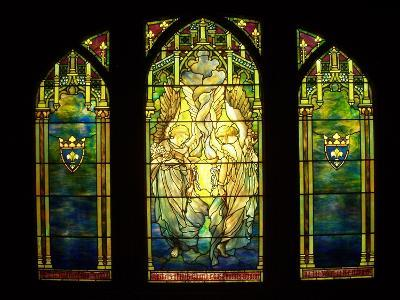 Tiffany Stained Glass Window--Photographic Print