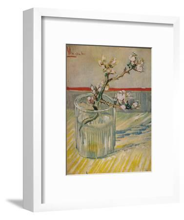 'Tige Fleurie D'Amandier', 1888-Vincent van Gogh-Framed Giclee Print