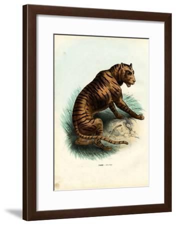 Tiger, 1863-79-Raimundo Petraroja-Framed Giclee Print