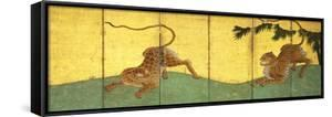 Tiger and Leopard Among Bamboo