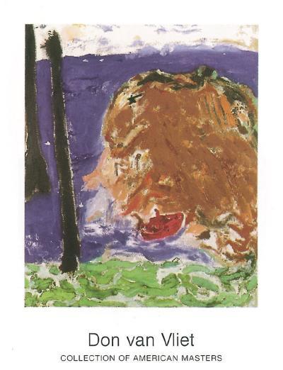 Tiger Boat, 1987-Don Van Vliet-Art Print