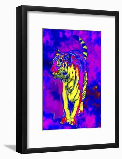 Tiger Endangered Species-Rich LaPenna-Framed Premium Giclee Print