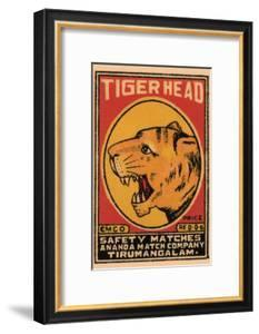 Tiger Head Safety Matches