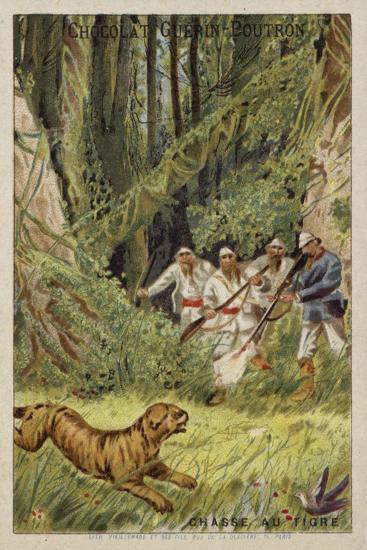Tiger Hunting--Giclee Print