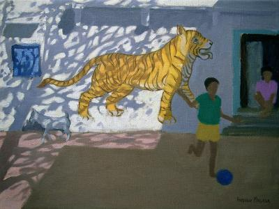 Tiger, India-Andrew Macara-Giclee Print