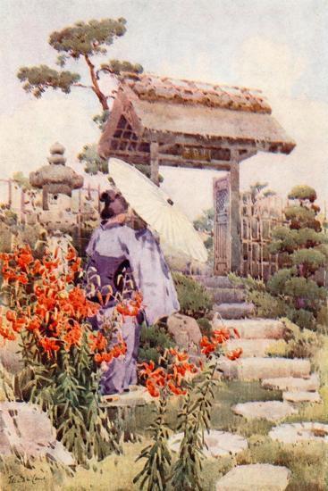Tiger Lilies-Ella Du Cane-Giclee Print