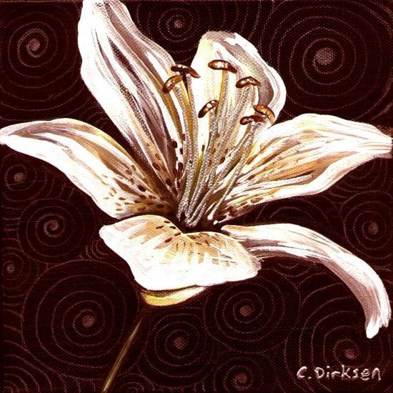 Tiger Lily 1-Cherie Roe Dirksen-Giclee Print