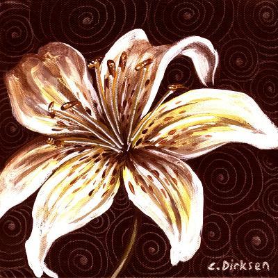 Tiger Lily 2-Cherie Roe Dirksen-Giclee Print