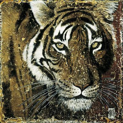 Tiger Portrait-Fabienne Arietti-Art Print