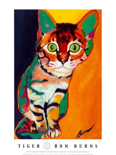 Tiger-Ron Burns-Art Print