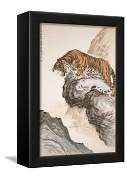 Tiger-Zhang Shanzi-Framed Premier Image Canvas