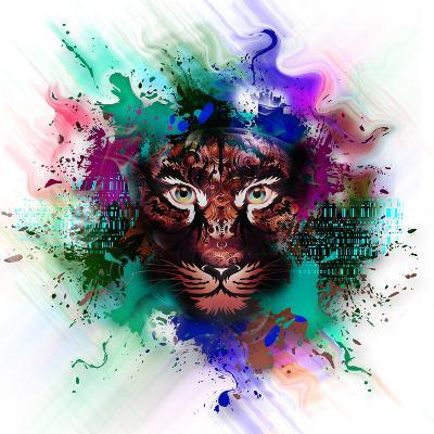 Tiger-reznik_val-Art Print