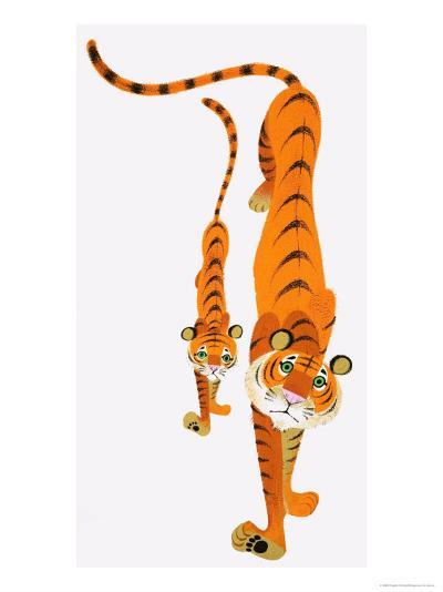 Tigers--Giclee Print