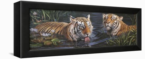 Tigers-Michael Jackson-Framed Premier Image Canvas