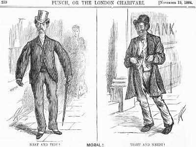 Tight and Needy, 1884-Charles Samuel Keene-Giclee Print