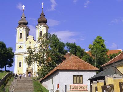 Tihany, Near Balatonfured, Lake Balaton, Hungary-John Miller-Photographic Print