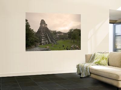 Tikal Pyramid Ruins, Guatemala-Michele Falzone-Wall Mural