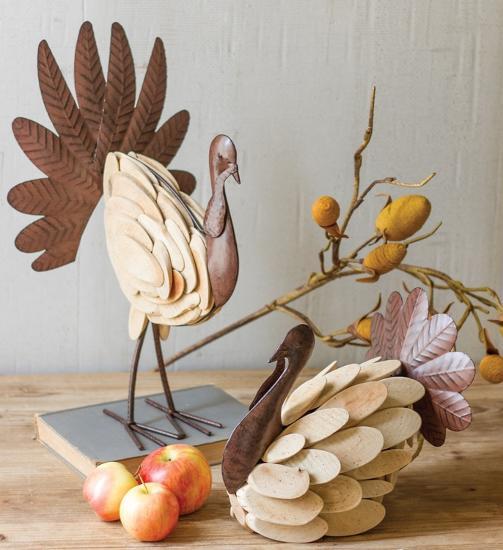 Tilden Turkey Pair *--Home Accessories