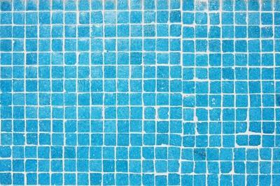 Tile Texture Background Of Bathroom Or Swimming Pool Tiles On Wall-rjmiguel-Art Print