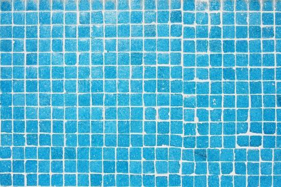 Tile Texture Background Of Bathroom Or Swimming Pool Tiles On Wall Art  Print by rjmiguel | Art.com
