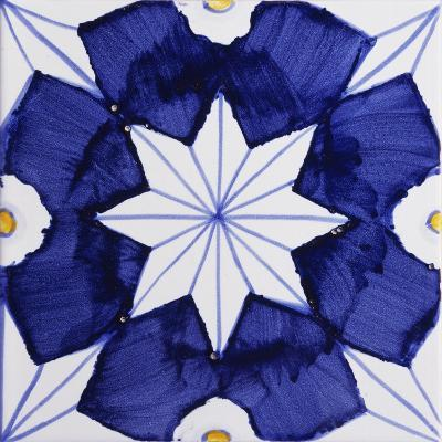 Tile with Geometric Patterns for Houses of Nobles--Giclee Print