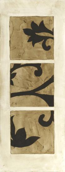 Tiled Triptych II-Jennifer Goldberger-Art Print