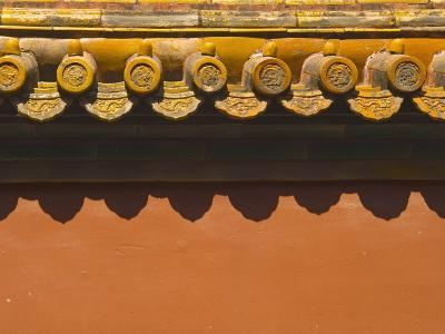 Tiles on Roof of Forbidden City-Xiaoyang Liu-Photographic Print