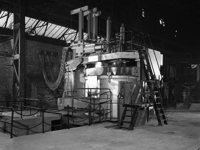 Tilghman Electric Arc Furnace, Keyser Ellison Steelworks, Sheffield, South Yorkshire, 1964-Michael Walters-Photographic Print