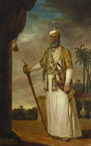 Nawab of Arcot and the Carnatic, India by Tilly Kettle