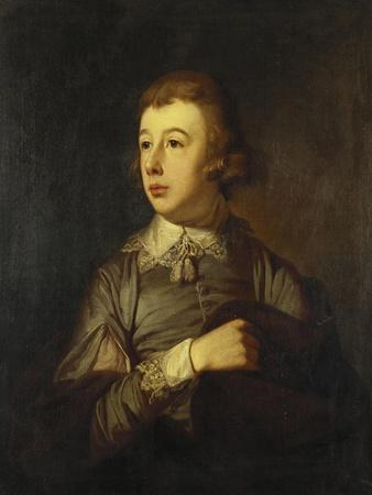 Portrait of a Boy, Said to Be William Pitt the Younger, 18th Century