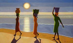 By the Beach, 2007 by Tilly Willis