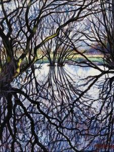 Pond Reflections, 2009 by Tilly Willis