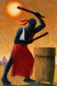 The Drummer, 1993 by Tilly Willis