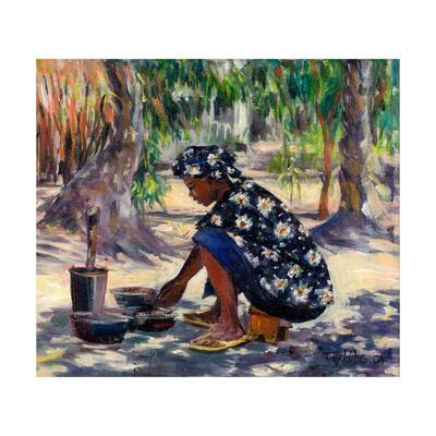 Woman Cooking, 2004
