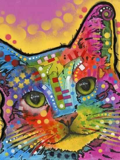 Tilt Cat-Dean Russo-Giclee Print
