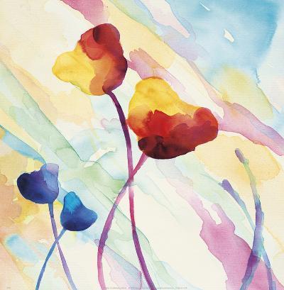 Tilt Tulips II-Deborah LaMotte-Art Print