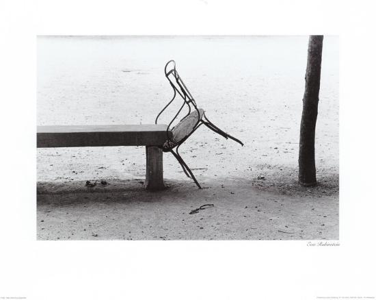 Tilted Chair Art Print by Eva Rubinstein | Art com