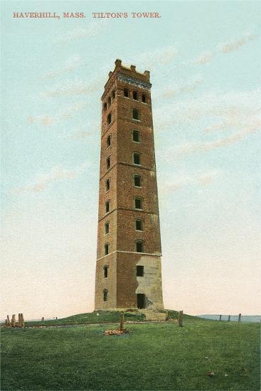 Tilton's Tower, Haverhill--Art Print